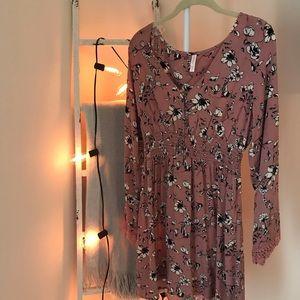 Xhilaration Floral Fall Dress Size M